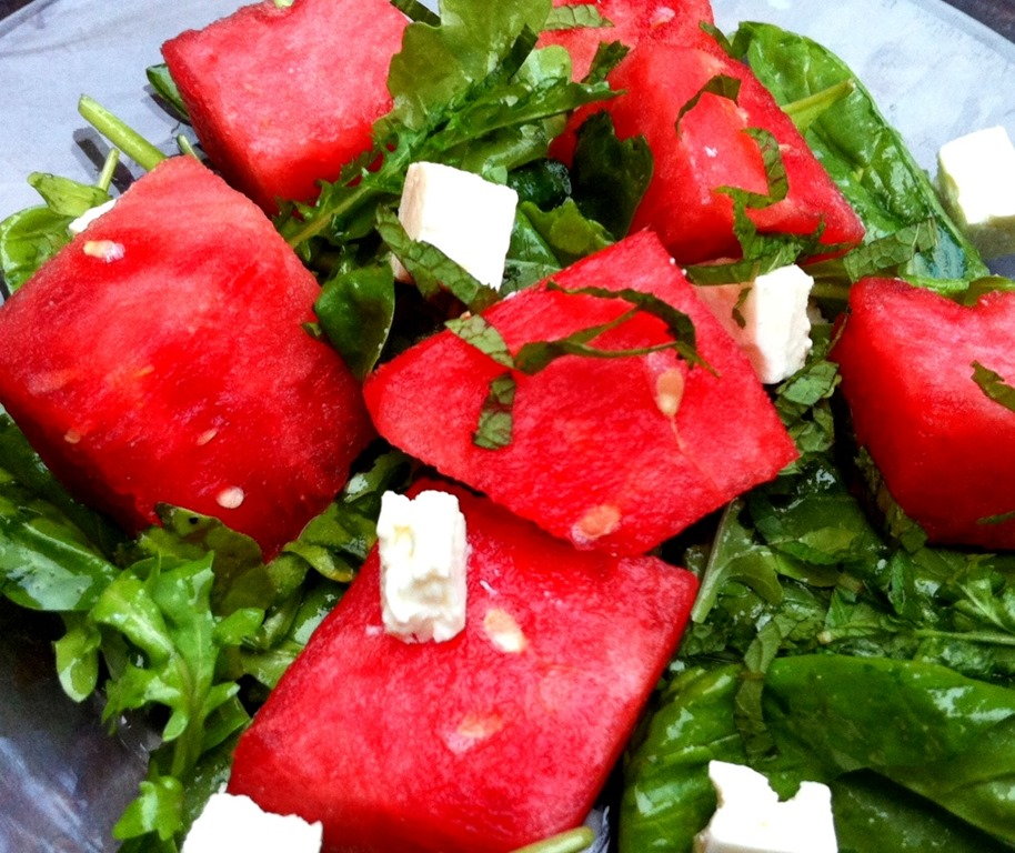 watermelon feta salad 5