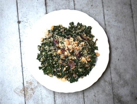 Cozy Autumn Kale Salad